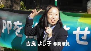 吉良よし子参院議員あいさつ 吉良佳子 検索動画 22