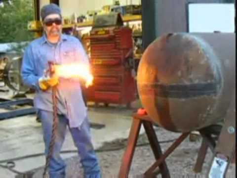 Cutting A Propane Tank Youtube