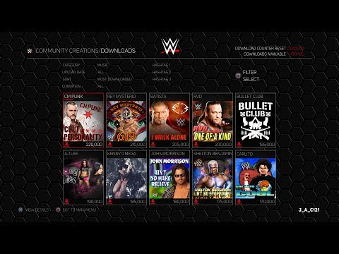 WWE 2K18 Concept: Download Custom Music