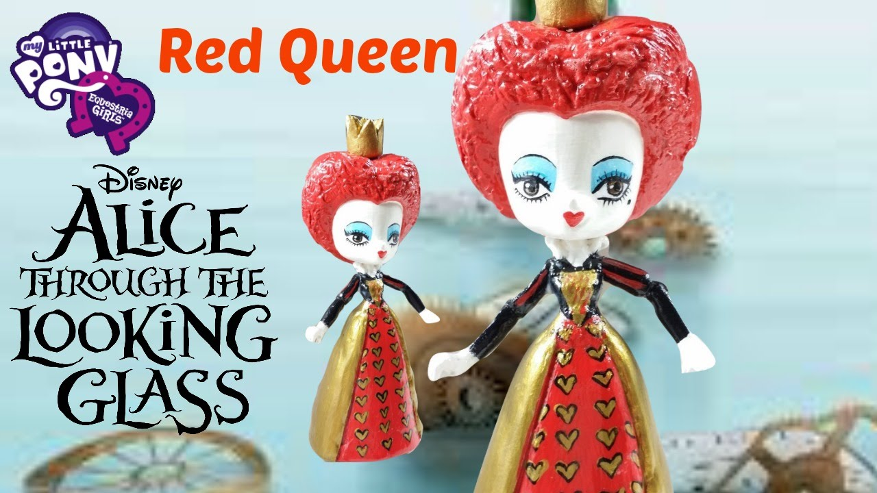 Toys That Start With E : Custom red queen disney alice through the looking glass