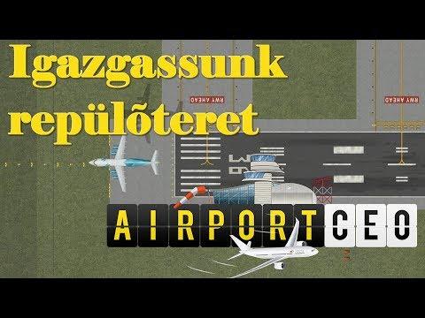 Airport CEO - Igazgassunk repülőteret