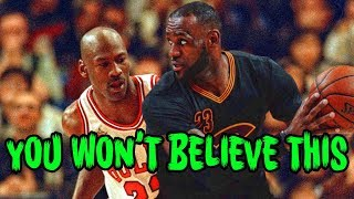 The ULTIMATE Michael Jordan Lebron James Conspiracy!