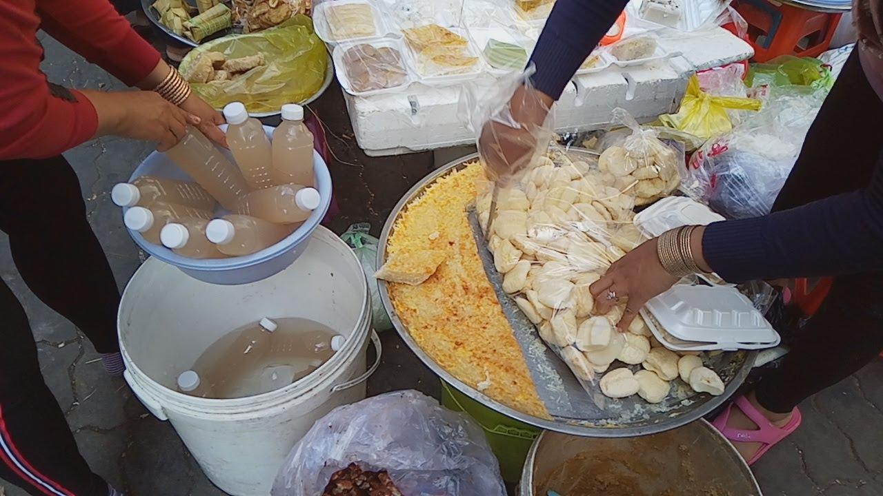 Cambodian Wet Market - Best Street Food View In Phnom Penh ...