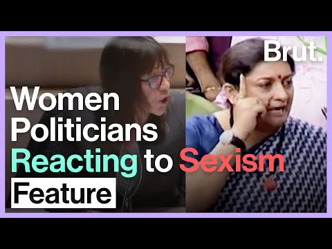 Women Politicians Strike Back At Sexism