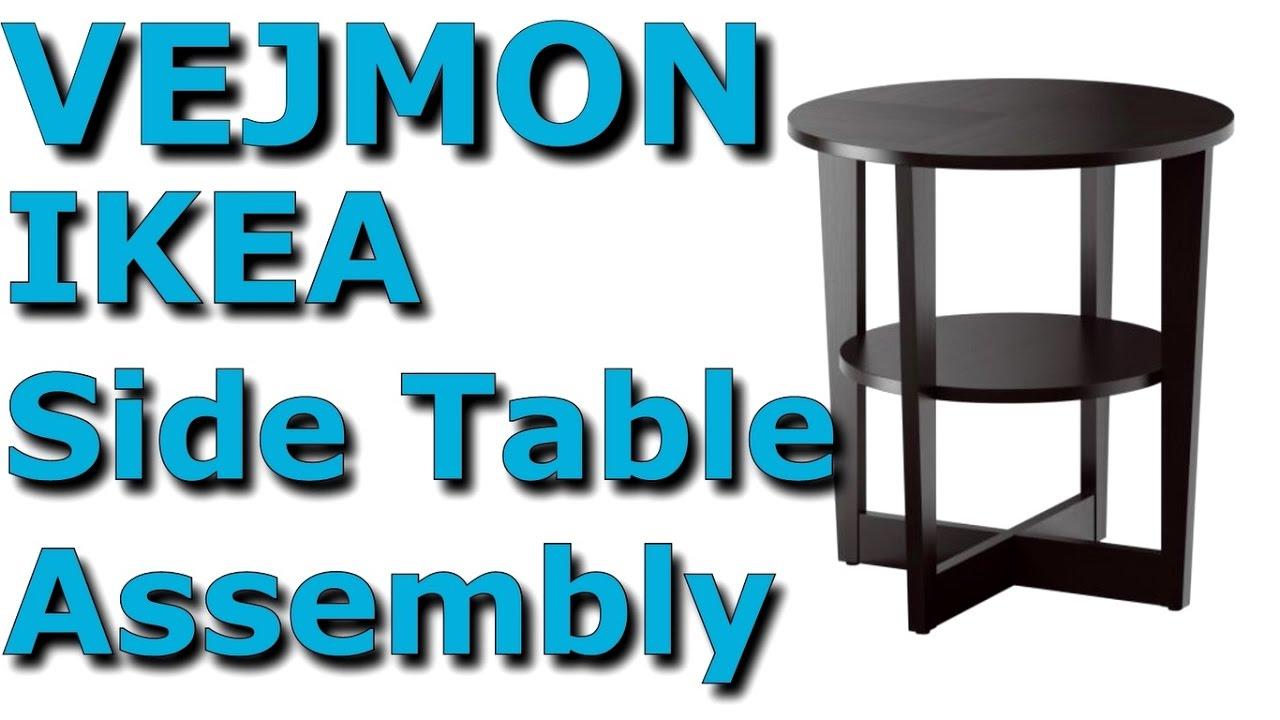 Vejmon Coffee Table Black Brown