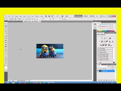 การทำภาพขอบฟุ้ง ในโปรแกรม Photoshop CS5