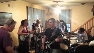 NO FAIR SHAKE band practice 6/5/14