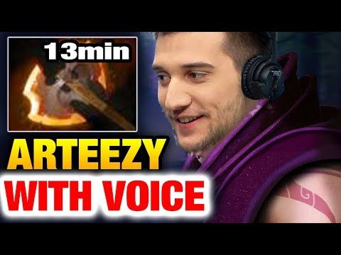Arteezy with Voice Chat: Anti-mage META Dota 2