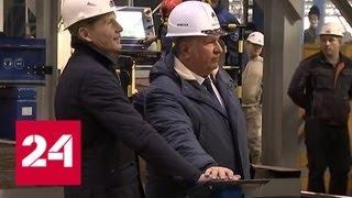 Новая эра в судостроении на Звезде начали серийное производство танкеров на СПГ - Россия 24