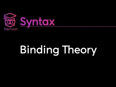 [Syntax] Binding Theory