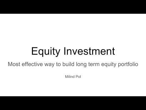 EquityInvestment Simplified
