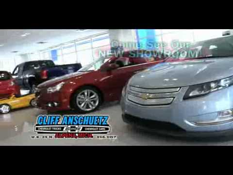 brand new showroom at cliff anschuetz chevrolet in alpena michigan youtube youtube