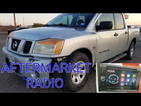 2006 Nissan Titan Aftermarket Radio