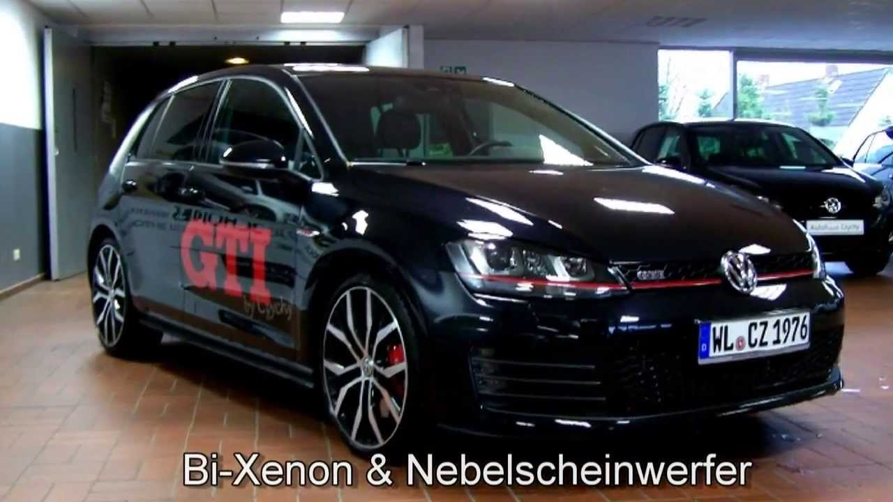 volkswagen golf vii 2 0 tsi gti performance dsg dw150884 autohaus czychy youtube. Black Bedroom Furniture Sets. Home Design Ideas