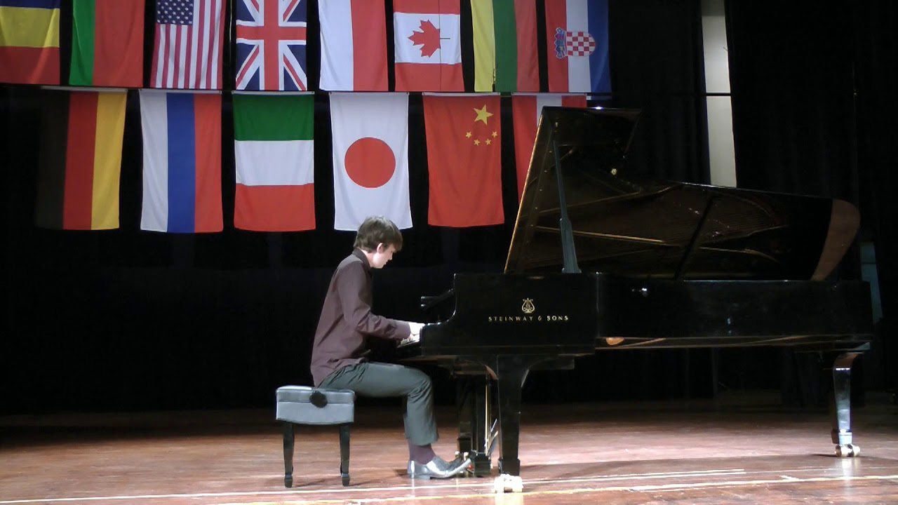 Matthew McLachlan, UK-II Krystian Tkaczewski International Piano Competition