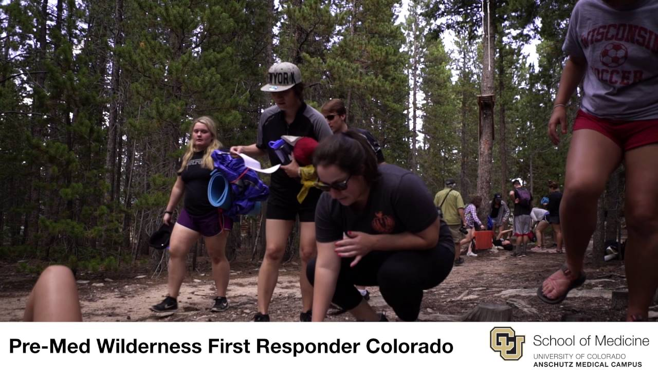 Pre-Med/Pre-Health Wilderness & Emergency Medicine Course in Colorado
