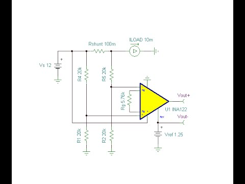Online circuit simulation of a Shunt amplifier with offset output ...