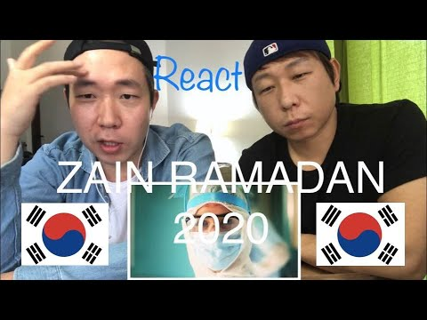 [Reaction]-[Eng Sub] Non-muslim Korean Brothers React Zain Commercial 2020