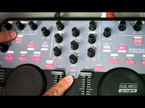 Controladora Dual Mix Laserdj