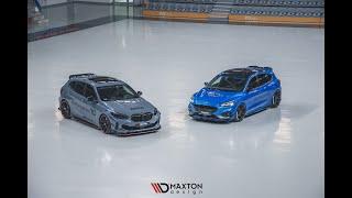 MAXTON DESIGN DEMO CARS | BMW M135 F40 u0026 FORD FOCUS ST MK4