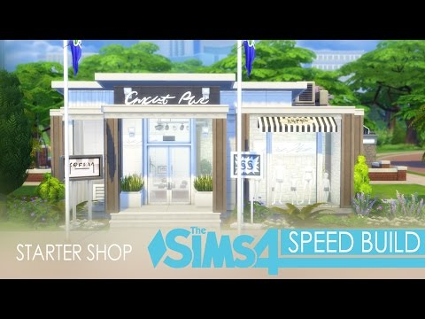 the-sims-4-get-to-work---speed-build---starter-shop