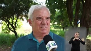 Vereadores em Ação - Porsani - Mato alto na Rua Armando Salles de Oliveira