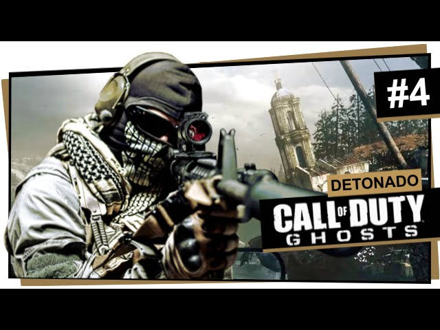 Call of Duty Ghosts #4 - Derrubado (Dublado em Português)