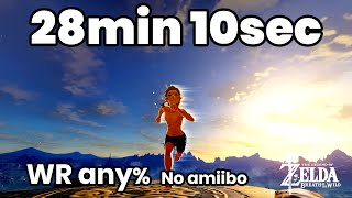 SPEEDRUN ZELDA BOTW par sketodara - World Record Any% no amiibo