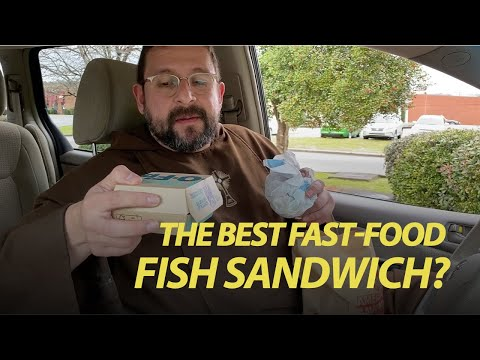 Outside The Friary - The Best Fast-Food Fish Sandwich