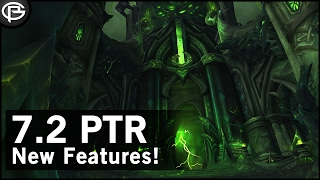Crafted Legendaries, Animations and Tombs - 7.2 PTR