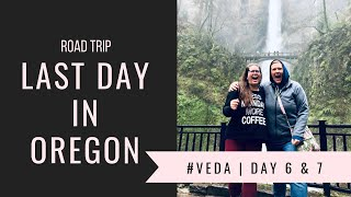 Day 2 Of The Pure Desire Women's Conference | Multnomah Falls | Vegan Stores