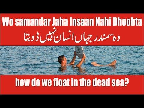 Dead Sea Mystery, Can You Float In The Dead Sea Urdu/Hindi | Bahr E Murdar Me Insaan Nahi Doobta