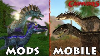 Carnivores PC and Mobile — What's the Difference?