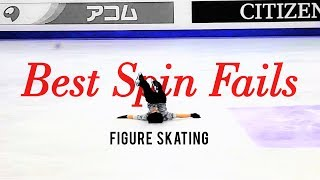Spin Fails Fantastiques - Yuzuru Hanyu, Stéphane Lambiel, Shoma Uno, Patrick Chan and others