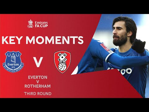 Everton Rotherham Goals And Highlights
