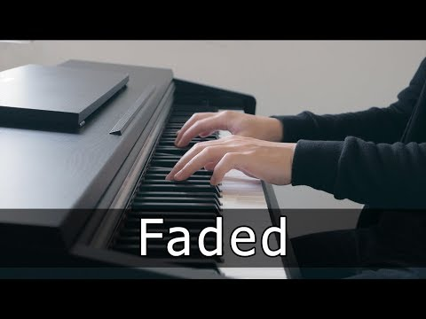 Alan Walker - Faded (Piano Cover by Riyandi Kusuma)