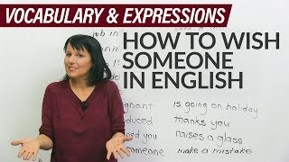 Learn English: How to wish someone in person and on Facebook