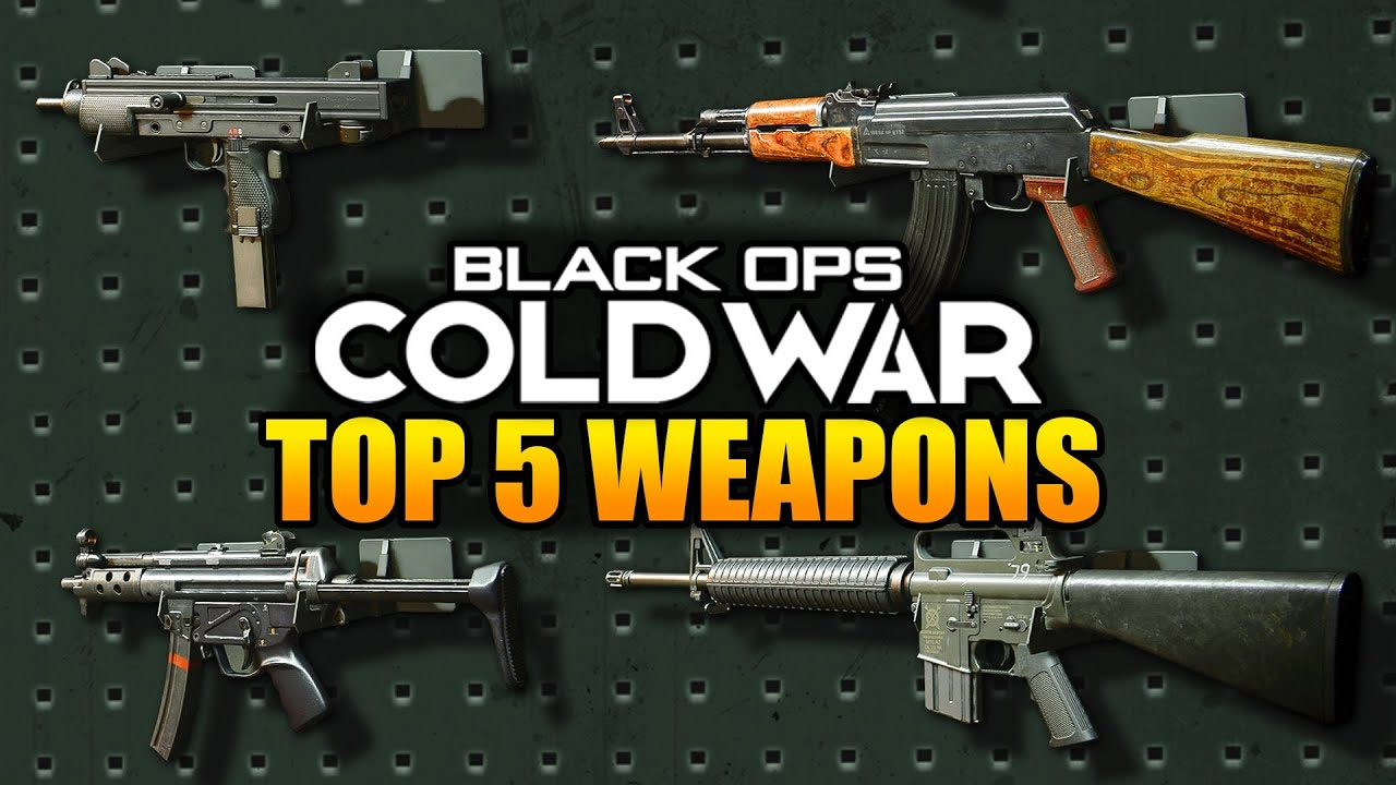 Top 5 Best Guns in Call of Duty Black Ops Cold War (Best Weapons)
