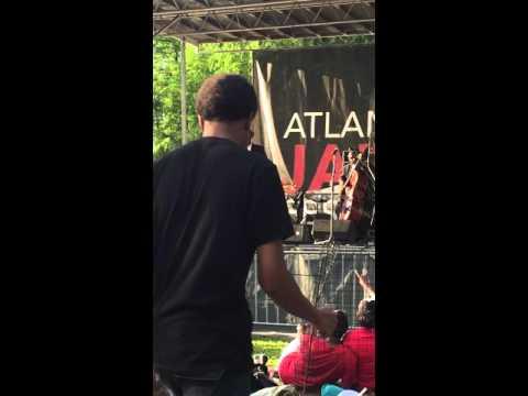 Tony Hightower singing Nature Boy at ATL Jazz Fest