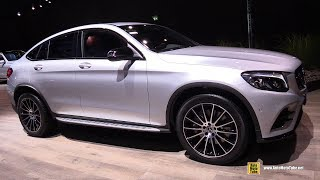 2018 Mercedes GLC 250 4Matic Coupe - Exterior and Interior Walkaround - 2017 Frankfurt Auto Show