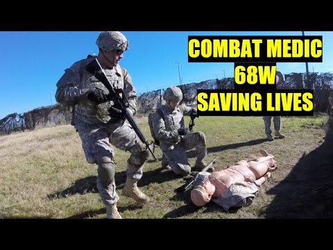 Army Combat Medic Training - 68W