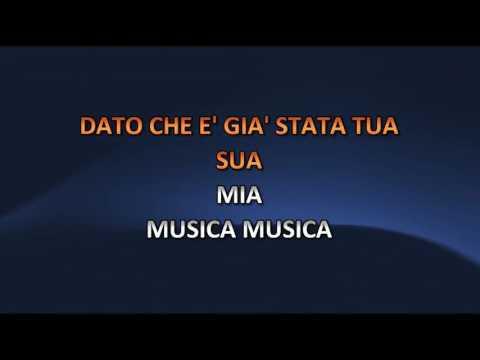 Ornella Vanoni - Musica Musica (Video karaoke)