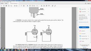 NEETS MODULE 6 INTRO EMISSION, TUBES, POWER SUPPLY CHAPTER 1 SUMMARY