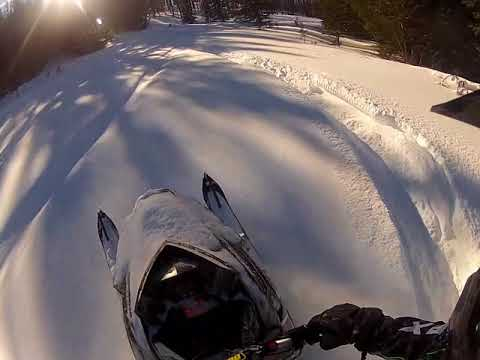 Bighorn Mountains WY secret spot snowmobiling