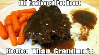Pot Roast - How To Cook  A Pot Roast - Beef Pot Roast Recipe