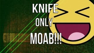 mw3 knife only moab best one on youtube