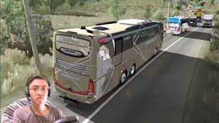 Menerjang kemacetan di Jambi dengan Bus Tronton Pandawa 87