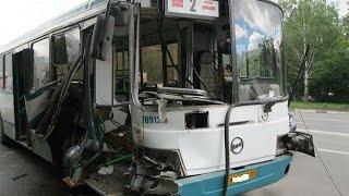 Bus Crashes, Tram Crashes, Trolleybus Crashes , compilation 2014 Part 4