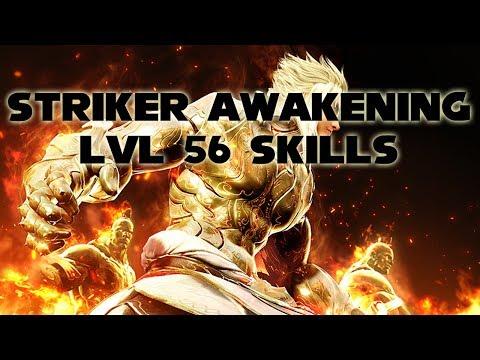 BDO Striker Awakening lvl56 Skills | KR | Black Desert Online