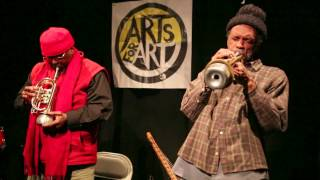William Parker & Daniel Carter - Song For Roy - Arts for Art / Evolving Music, NYC - Jan 27 2014